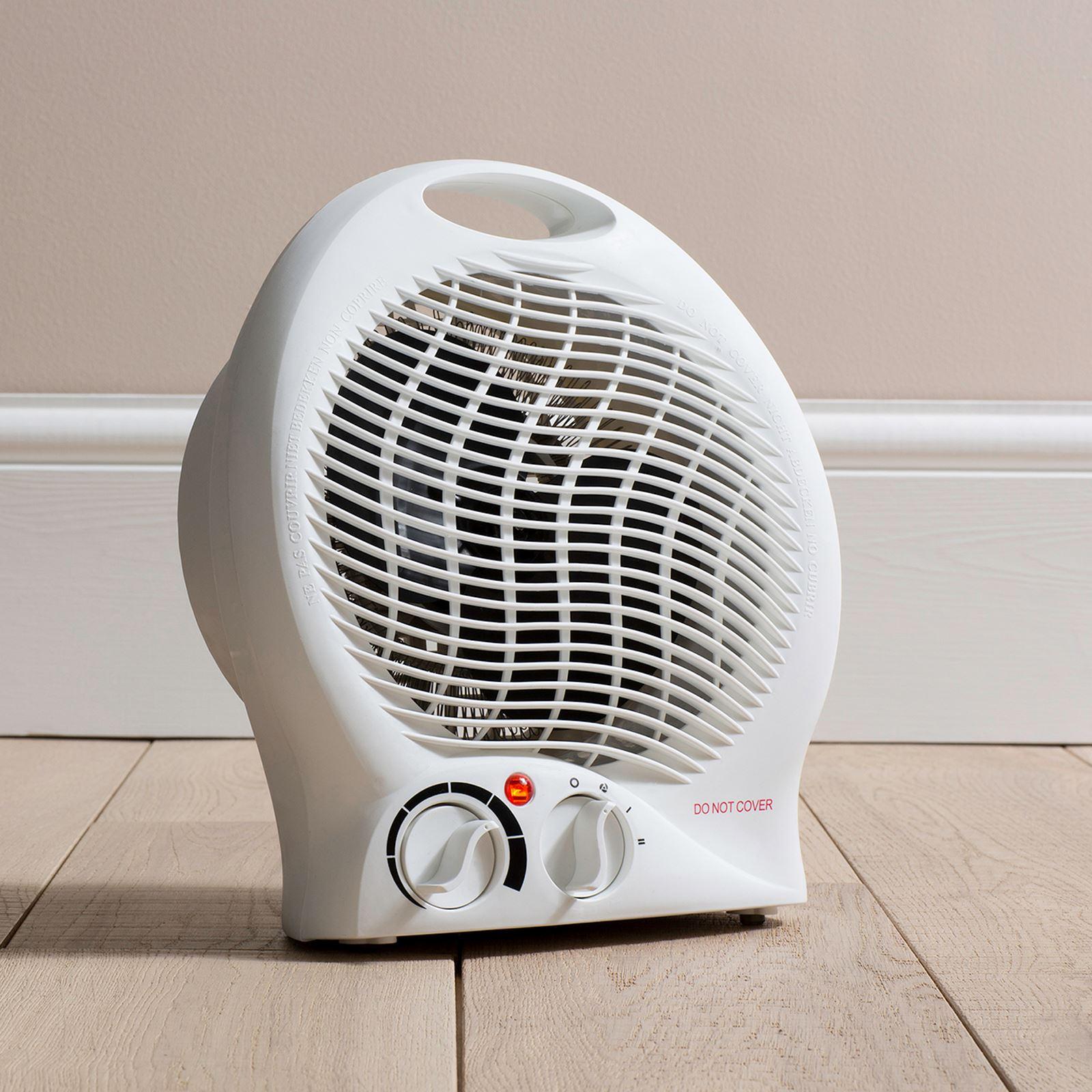 Daewoo Upright Fan Heater Heating