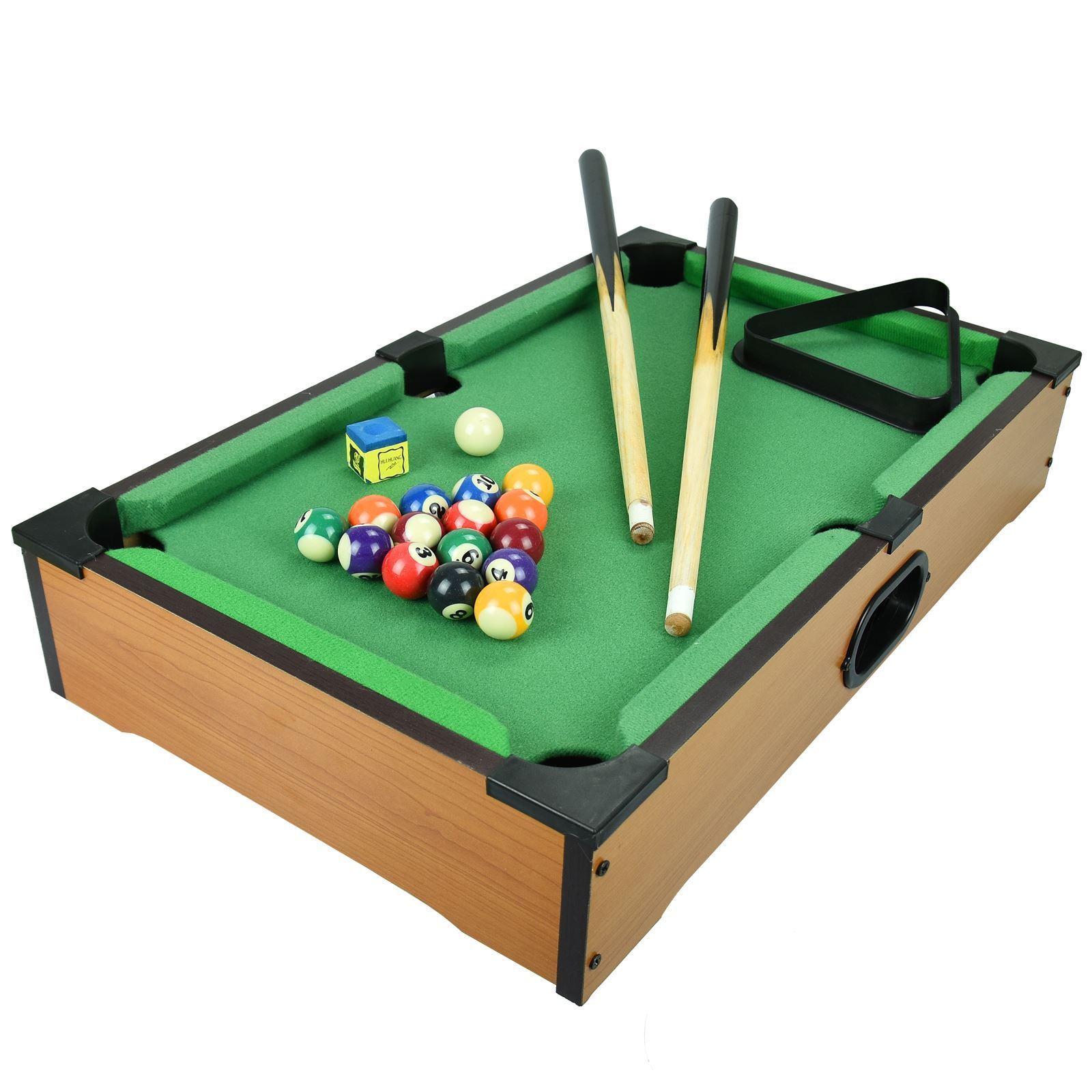 Pool Cue Rack Holds 6 Cues Billiard Rods Tidy Organizer Black Snooker